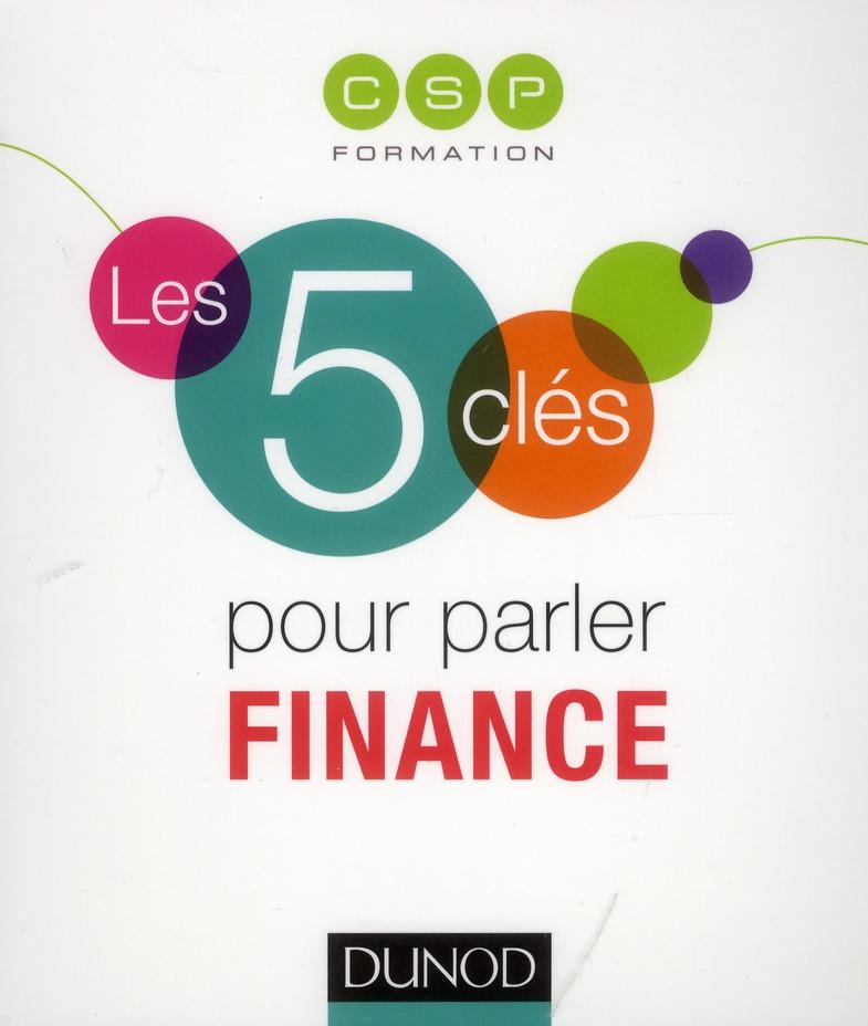 Les 5 Cles Pour Parler Finance