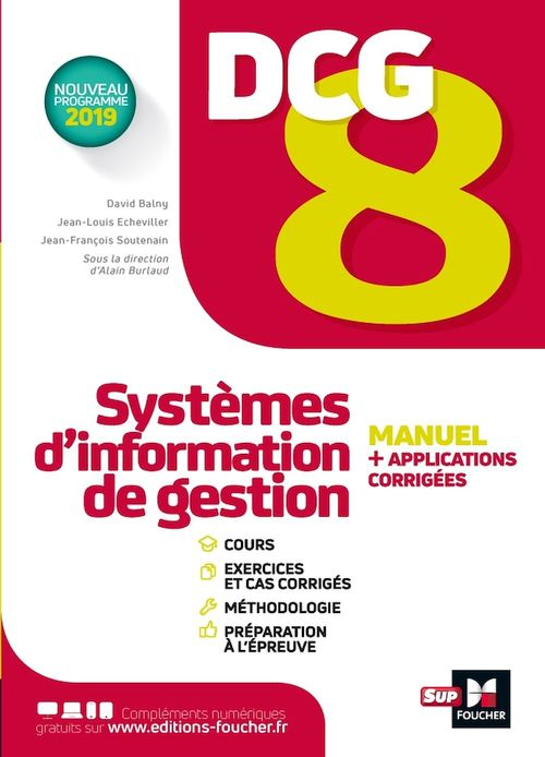 DCG 8 ; systèmes d'information de gestion