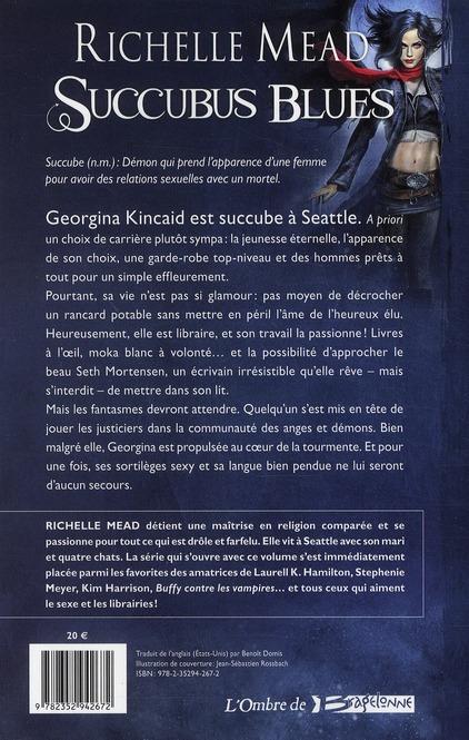 Georgina Kincaid ; succubus t.1 ; blues