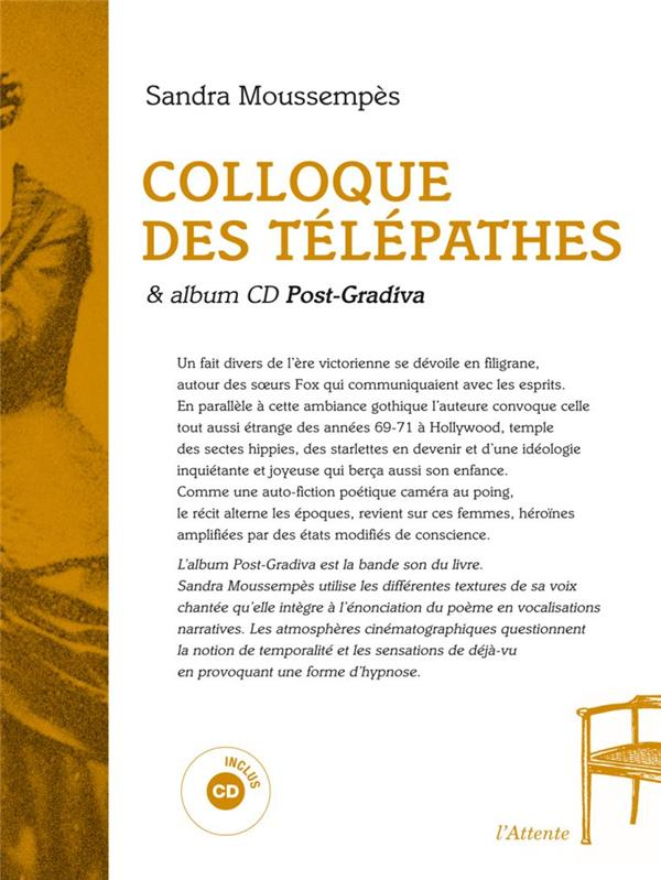 Colloque des télépathes ; post-gradiva
