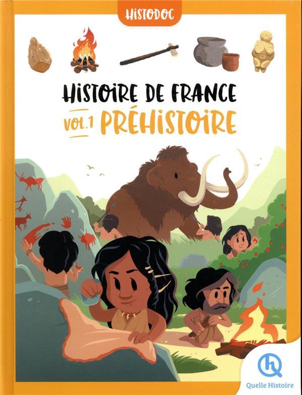 HISTOIRE DE FRANCE T.1 : PREHISTOIRE