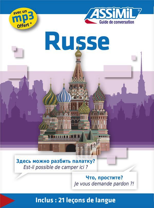 Guides De Conversation; Russe