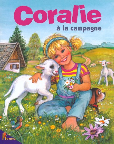 Coralie a la campagne