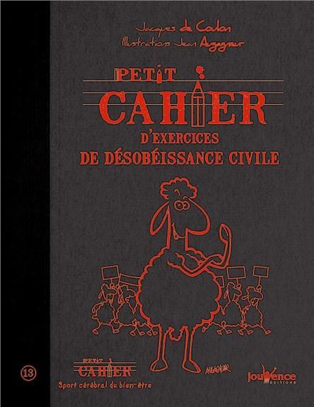 Petit Cahier D'Exercices ; De Desobeissance Civile