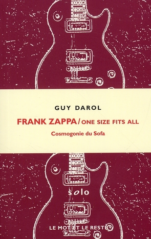 Frank Zappa ; one size fits all