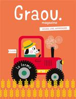 Couverture de Magazine Graou N 11 - A La Ferme