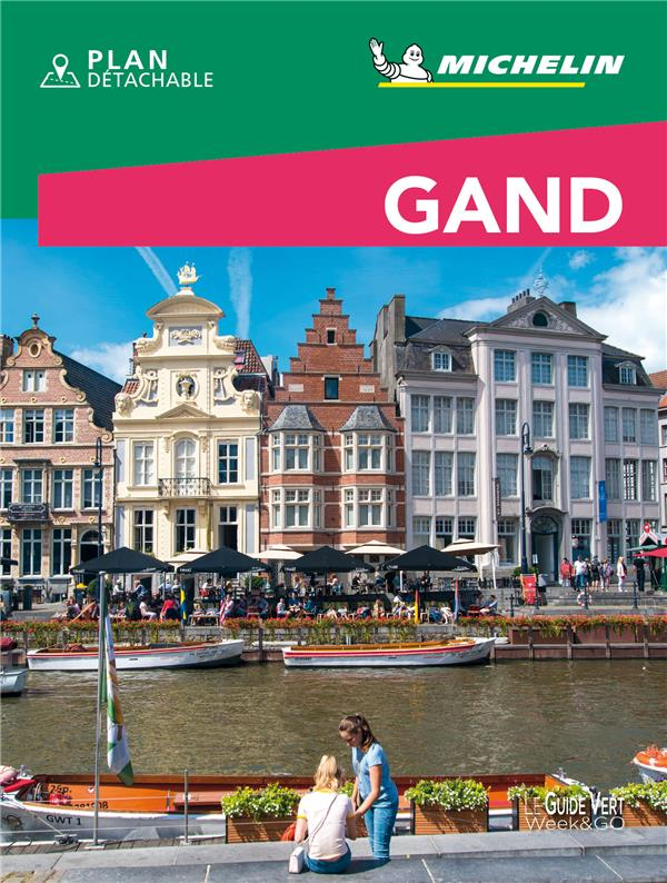 Le guide vert week-end ; Gand (édition 2021)