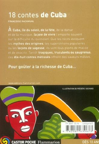 DIX HUIT CONTES DE CUBA