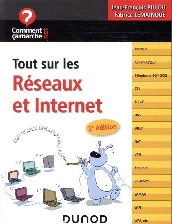 TOUT SUR LES RESEAUX ET INTERNET (5E EDITION) LEMAINQUE, FABRICE