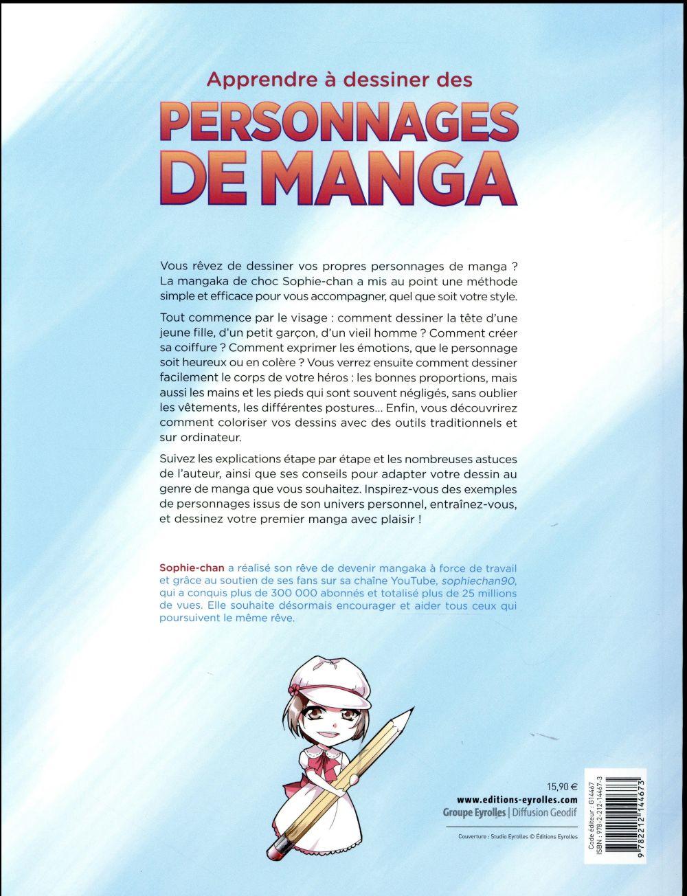 Apprendre à dessiner des personnages de manga
