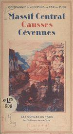 Vente Livre Numérique : Massif Central, Causses, Cévennes  - Fernand Cuvelier