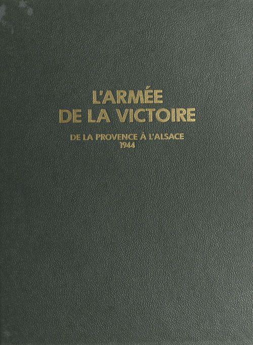 Armee de la victoire tome 3