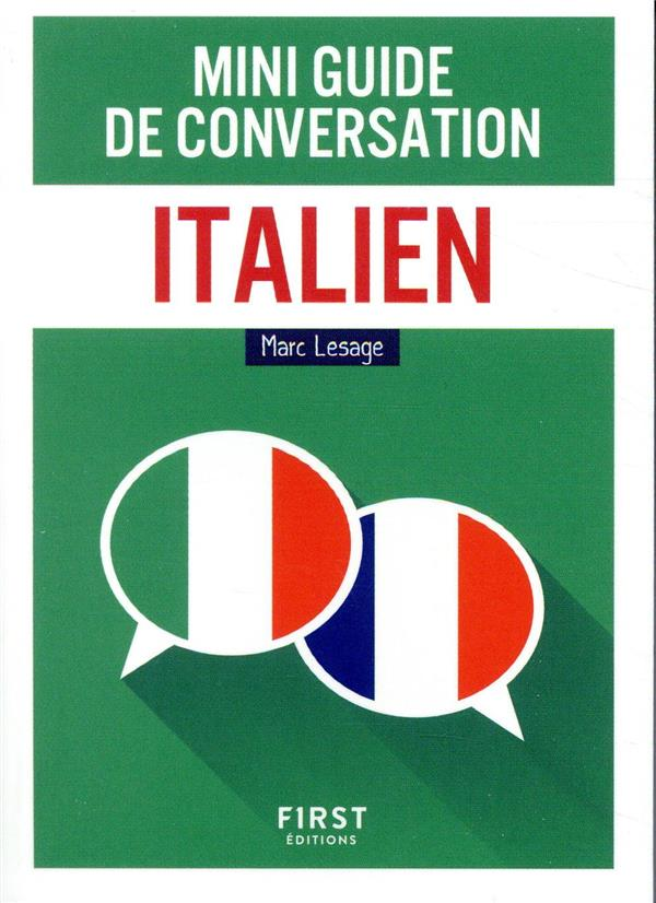 Mini guide de conversation ; italien