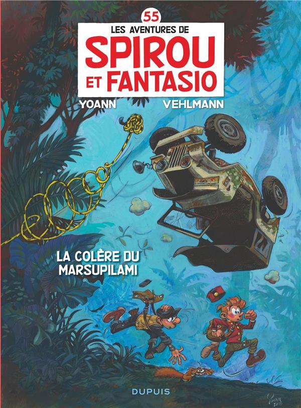 les aventures de Spirou et Fantasio t.55 ; la colère du Marsupilami