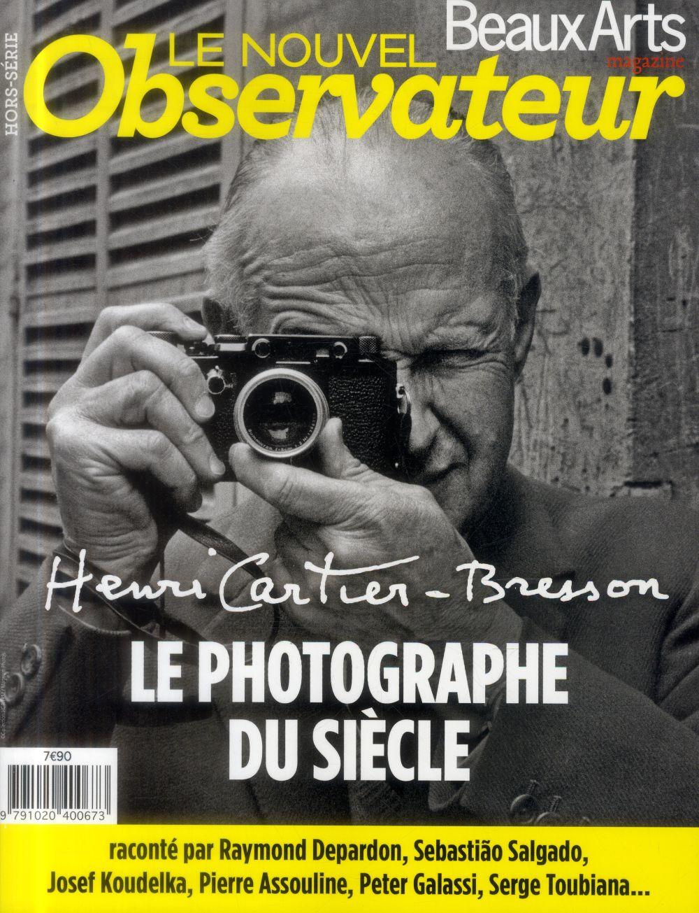 Henri cartier-bresson, le photographe du siecle