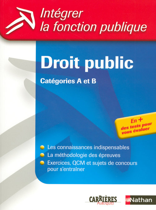 Droit public t.30 ; catégories A et B
