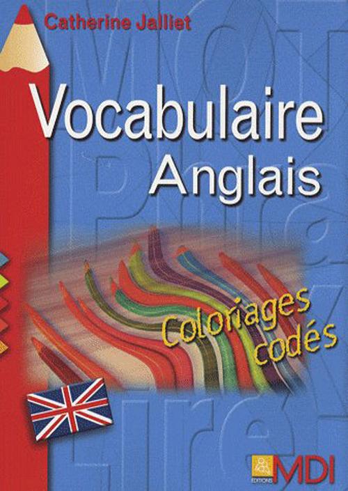 Coloriages ; codes vocabulaire anglais