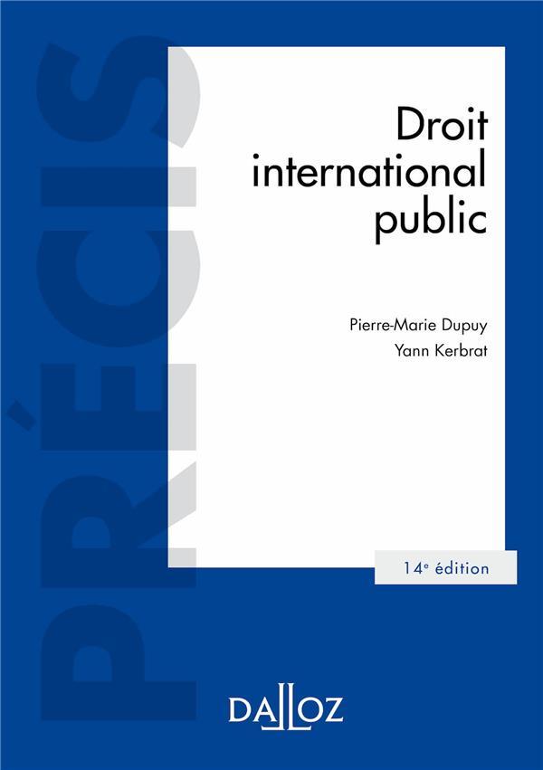 Droit international public (14e édition)