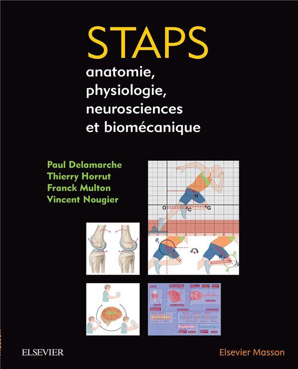 STAPS ; anatomie, physiologie, neurosciences et biomécanique