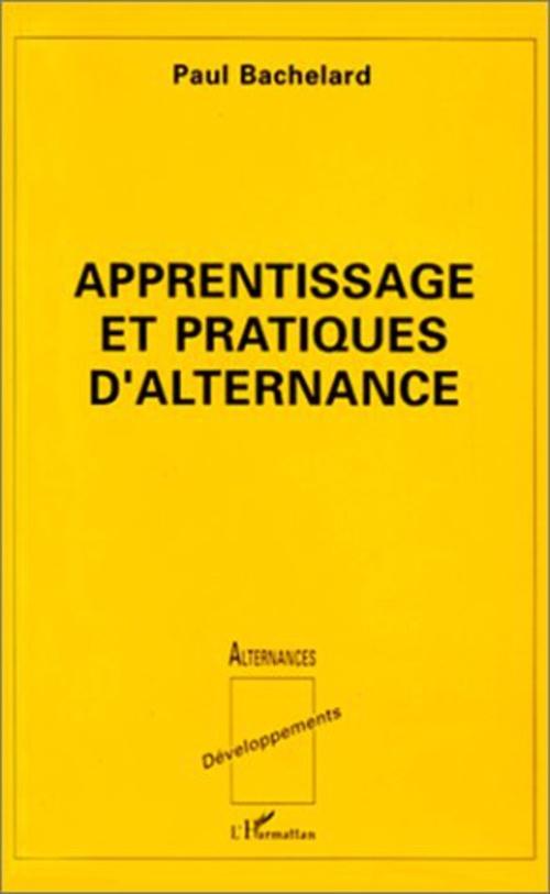 Apprentissage et pratiques d'alternance