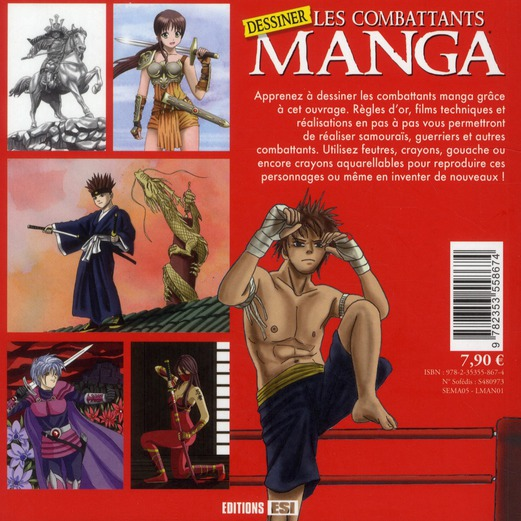 Dessiner les combattants manga