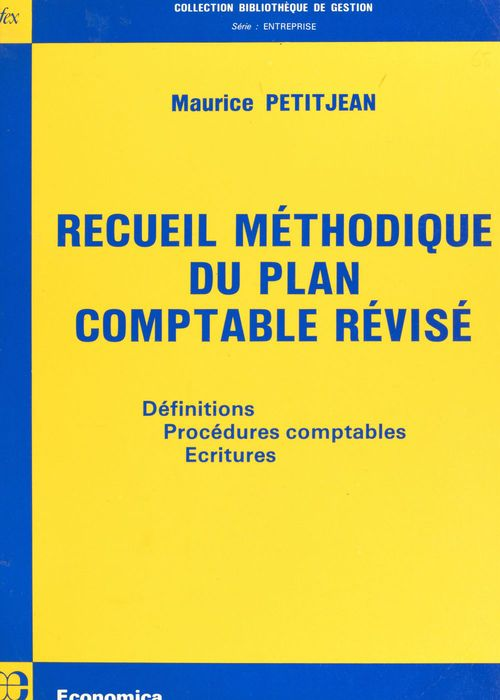 Recueil methodique du plan