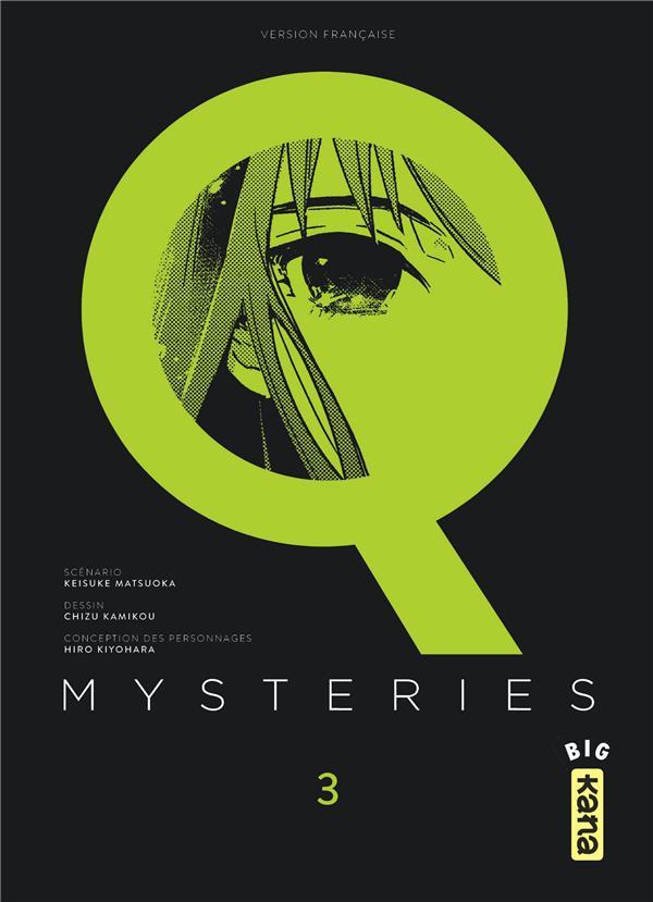 Q mysteries T.3