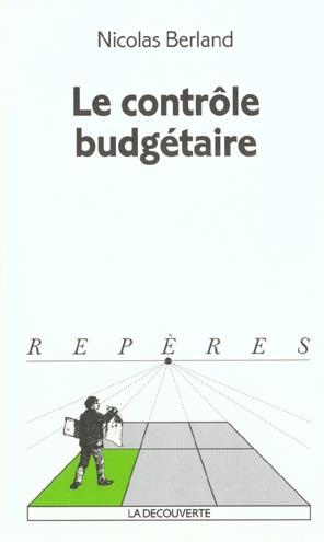Le Controle Budgetaire