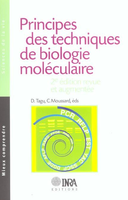 Principes Des Techniques De Biologie Moleculaire 2e Edition Revue Et Augmentee