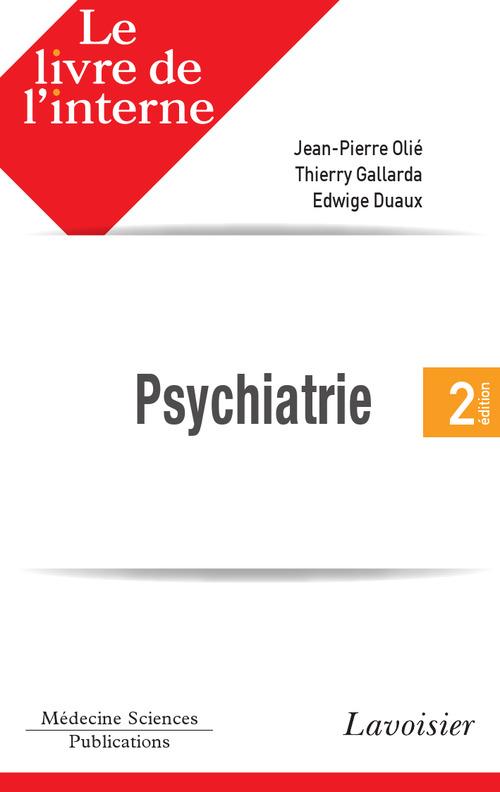 Le livre de l'interne en psychiatrie