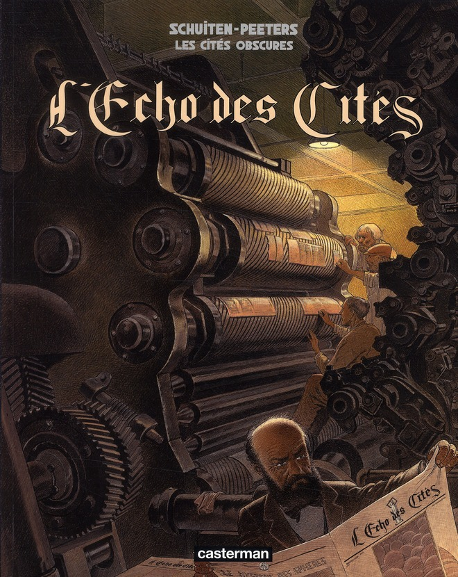 Les cités obscures HORS-SERIE T.6 ; l'écho des cités