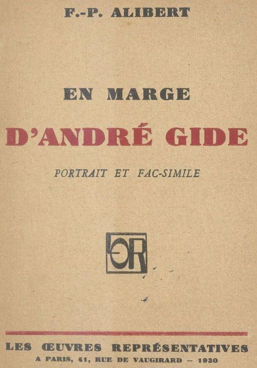 En marge d'André Gide