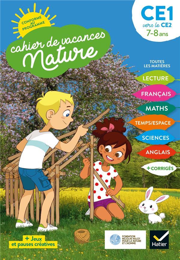 Cahier de vacances nature ; du CE1 vers le CE2
