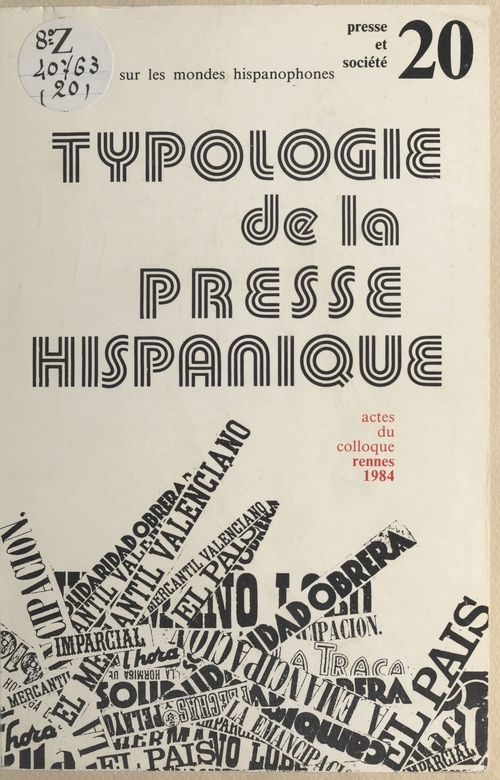 Typologie de la presse hispanique