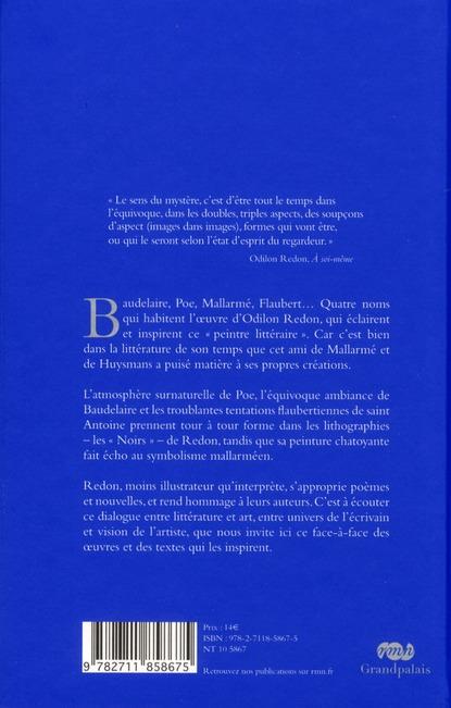 Baudelaire, Poe, Mallarmé, Flaubert, interprétations par Odilon Redon