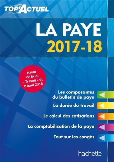 TOP ACTUEL ; la paye (édition 2017/2018)