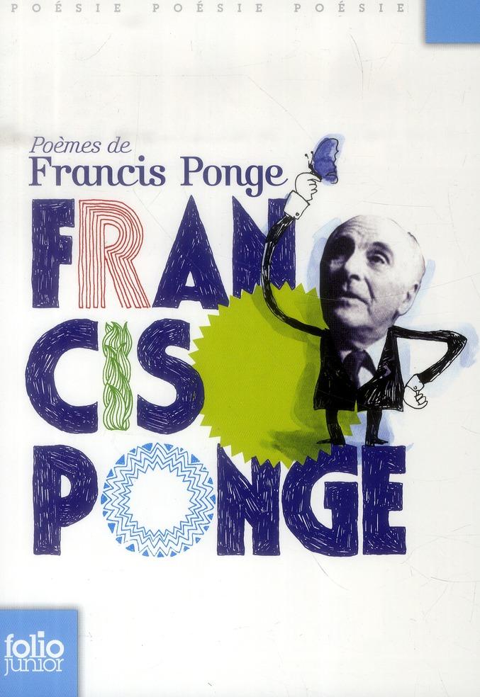 Poèmes de Francis Ponge