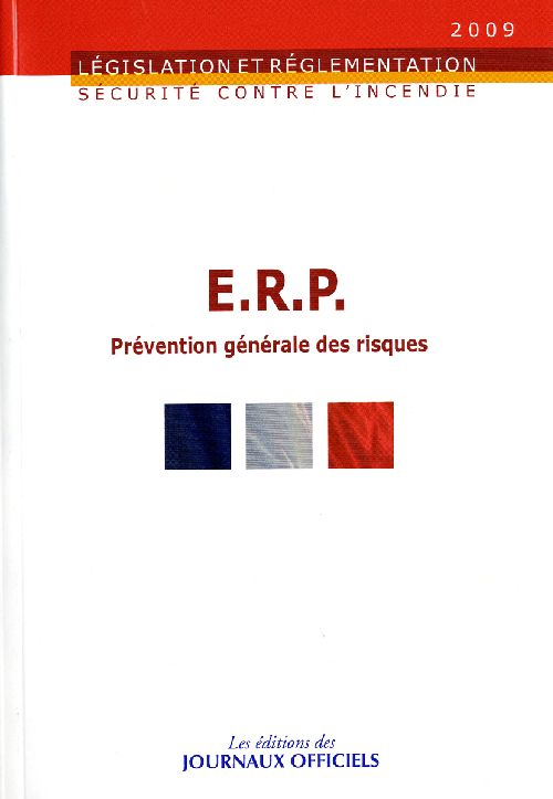 Erp ; Prevention Generale Des Risques
