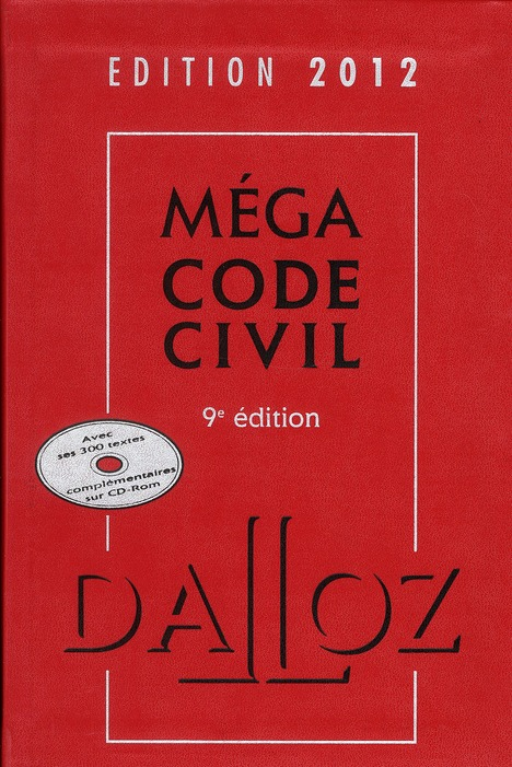 Mega Code Civil (Edition 2012)