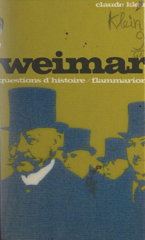 Weimar  - Claude Klein
