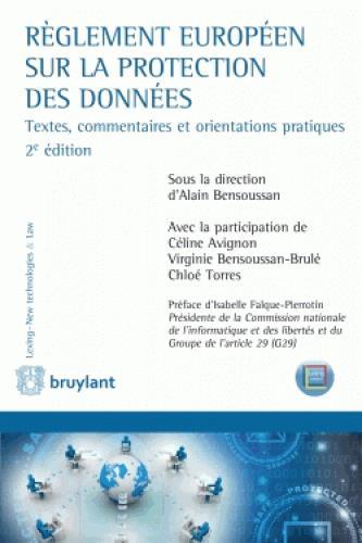 Réglement européen sur la protection des données