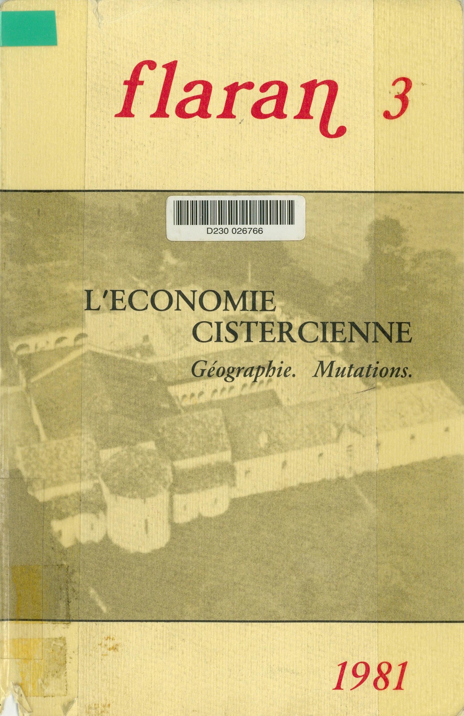 L´économie cistercienne  - Charles Higounet