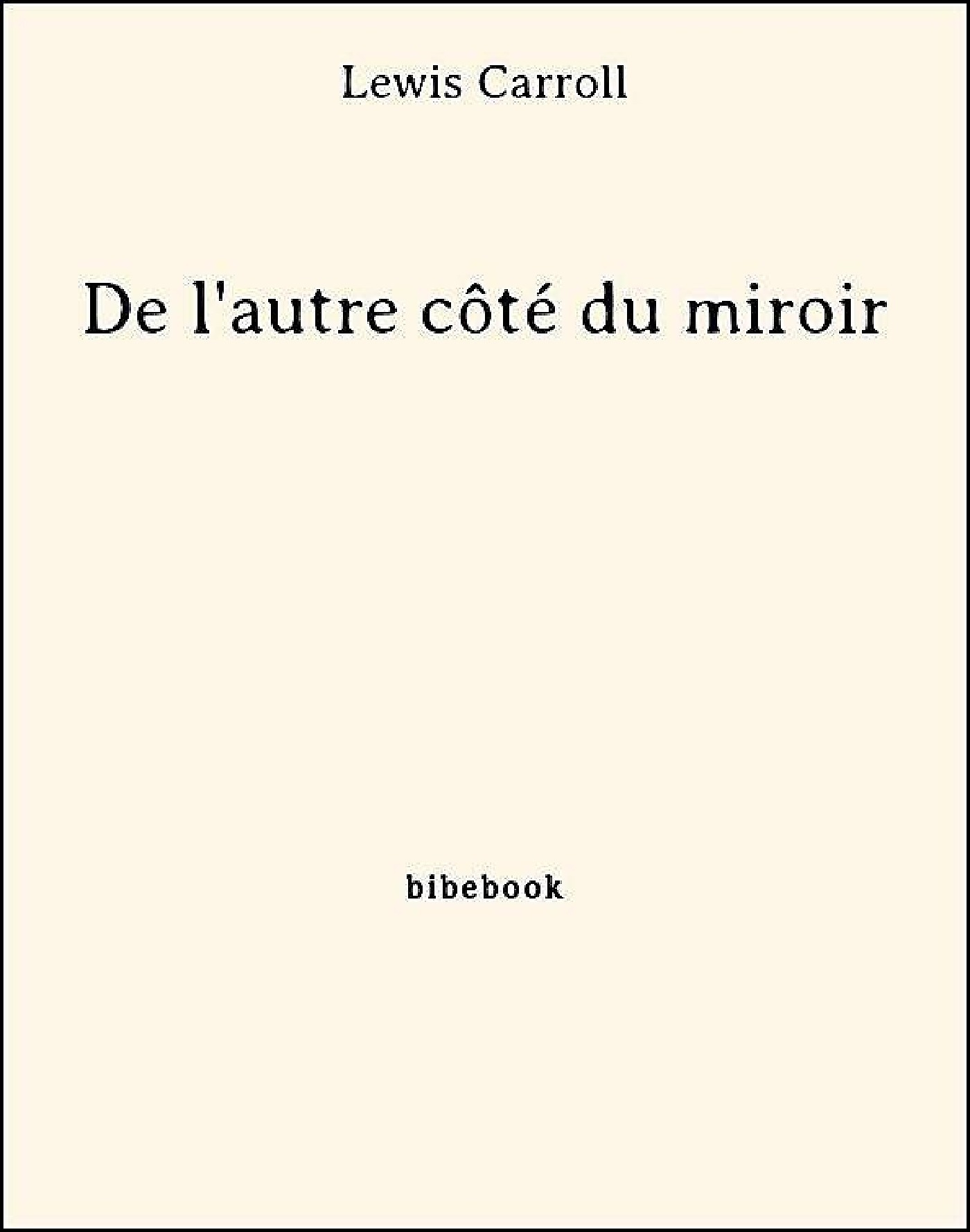 De l'autre côté du miroir