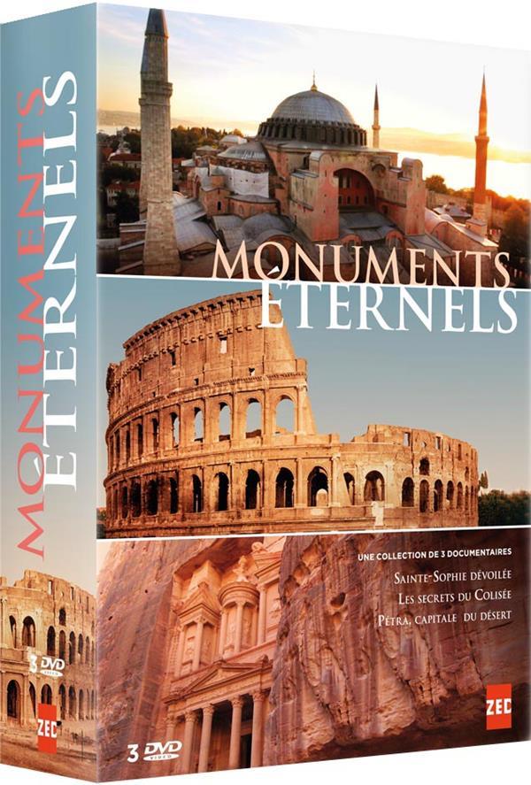 Monuments éternels : Sainte-Sophie dévoilée + Les secrets du Colisée + Petra, capitale du désert