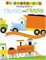Ed Emberley Drawing Book Trucks And Trains