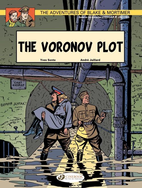 Blake et Mortimer T.8 ; the Voronov plot