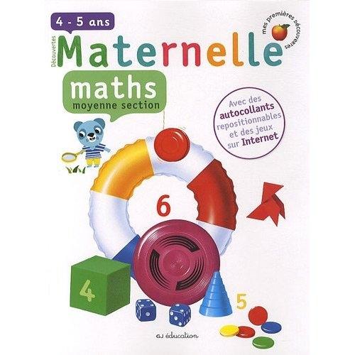 Mathématiques ; moyenne section de maternelle ; 4/5 ans