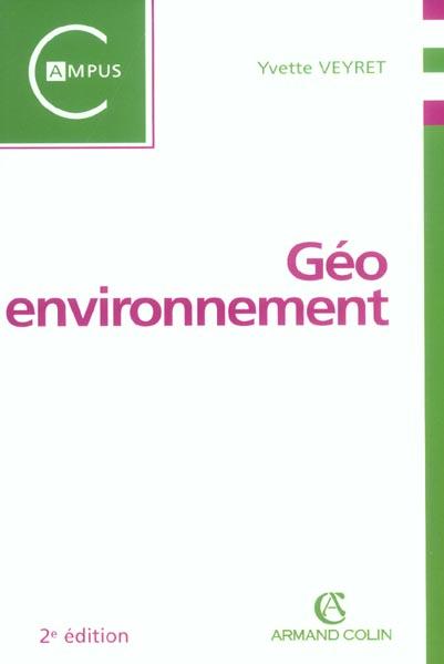 géo-environnement (2e édition)