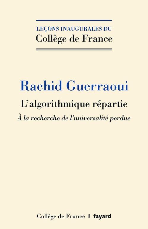 L'algorithmique répartie  - Rachid Guerraoui