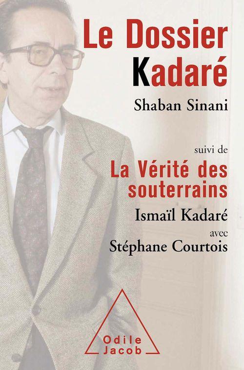 Le dossier Kadaré ; la vérité des souterrains